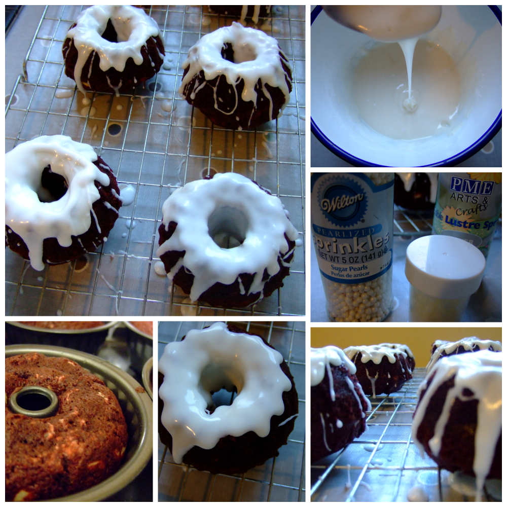 Decorating bundt cakes