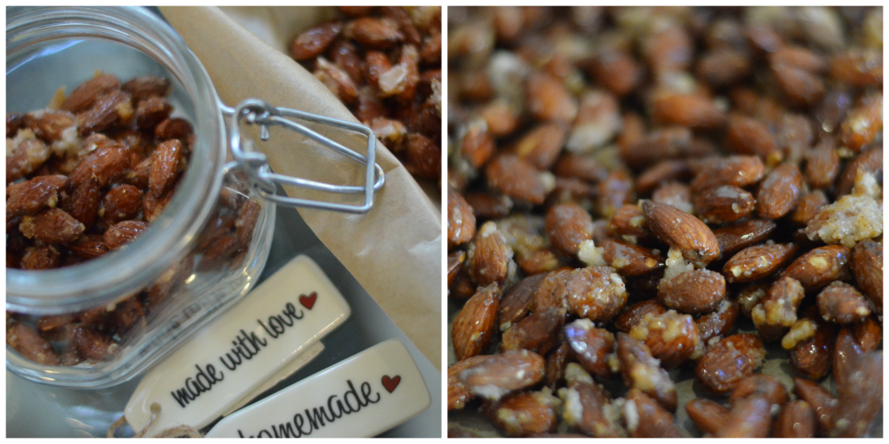 Paprika candied nuts